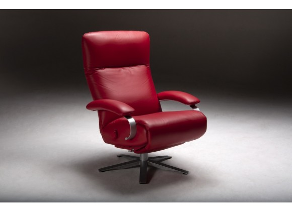 Lafer Carrie Recliner - Red Angle