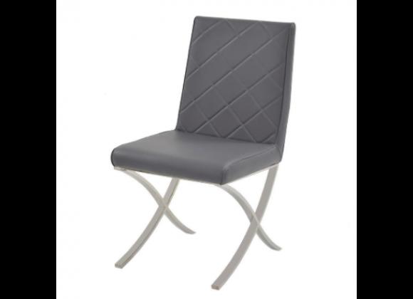 Casabianca Loft Dining Chair - Set of 2 - Grey