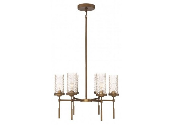 ZEEV Lighting Triticus Chandelier -  Antique Brass