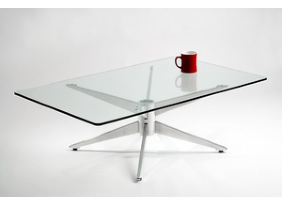 Knifty Aluminum Coffee Table