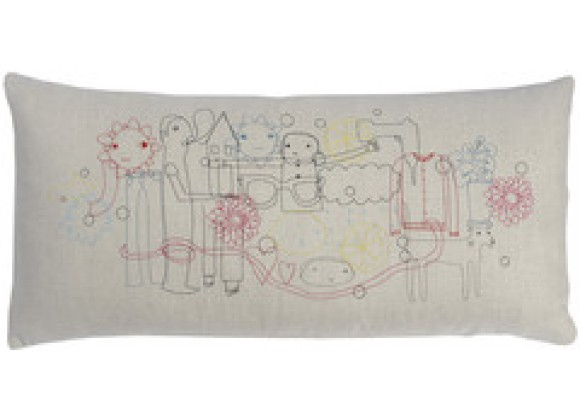 k studio Collage Pillow