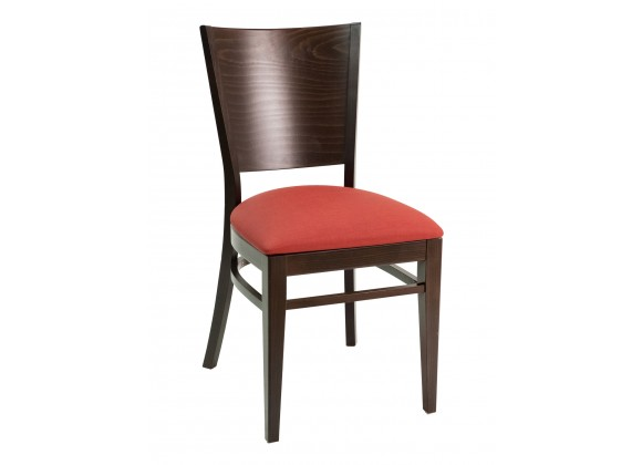 European Beechwood Wood Dining Chair - CON-11S - Cherry