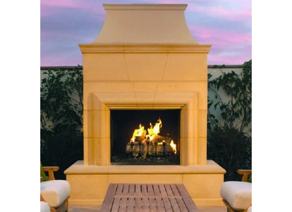 American Fyre Designs Cordova Outdoor Fireplace