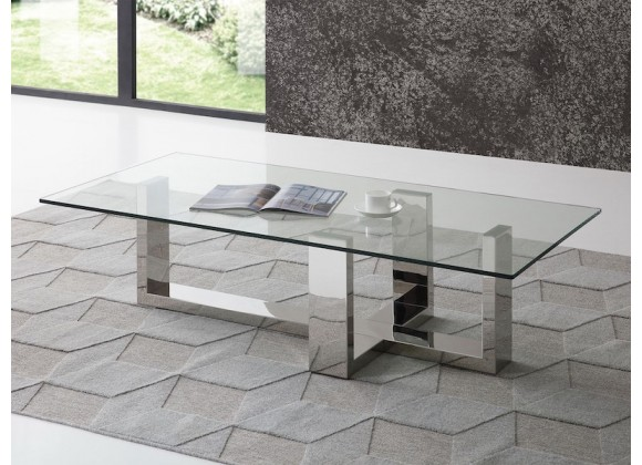 Whiteline Modern Living Blake Coffee Table