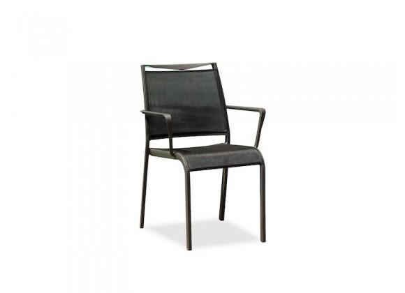 Whiteline Modern Living Aloha Indoor / Outdoor Dining Armchair - Set of 4