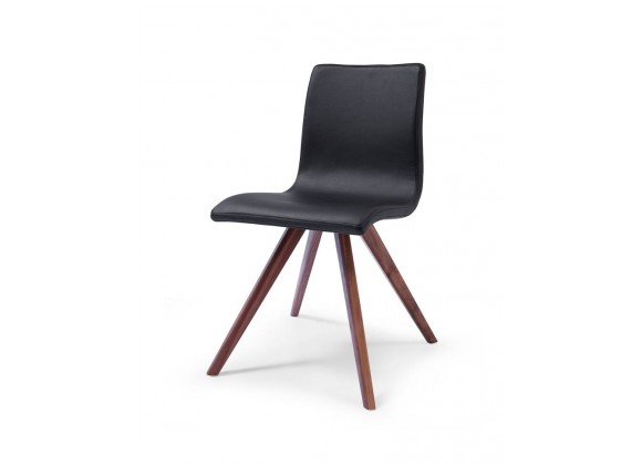 Olga Dining Chair Black - Front