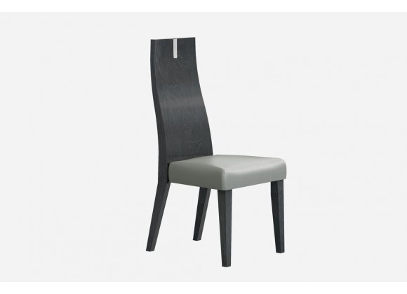 Los Angeles Dining Chair High Gloss Grey