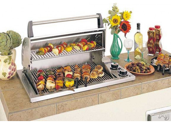 Fire Magic Legacy Deluxe Gourmet Countertop Grill