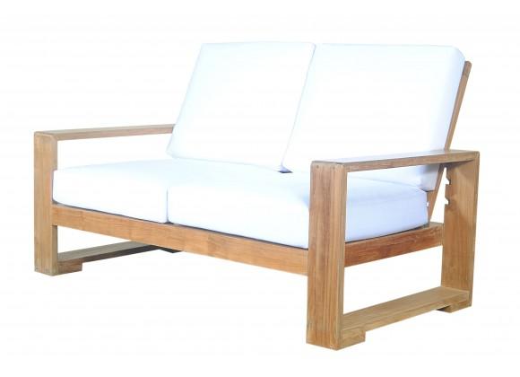 Capistrano Deep Seating Loveseat - Angled