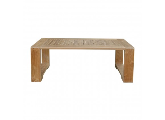 Capistrano Rectangular Coffee Table - Front