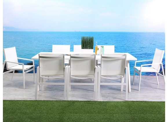 Whiteline Modern Living Rio Indoor / Outdoor Dining Table