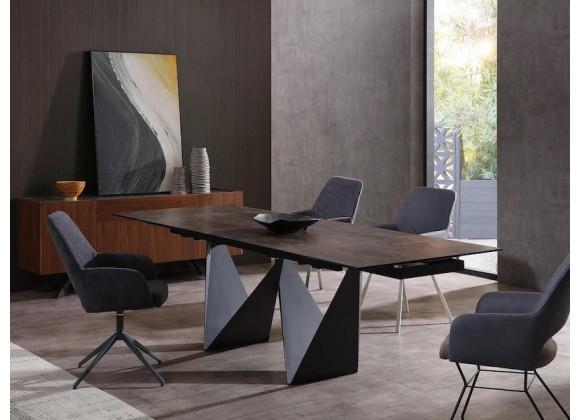 Whiteline Modern Living Jack Extendable Dining Table