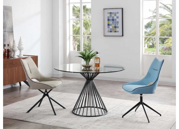 Whiteline Modern Living Cielo Dining Table