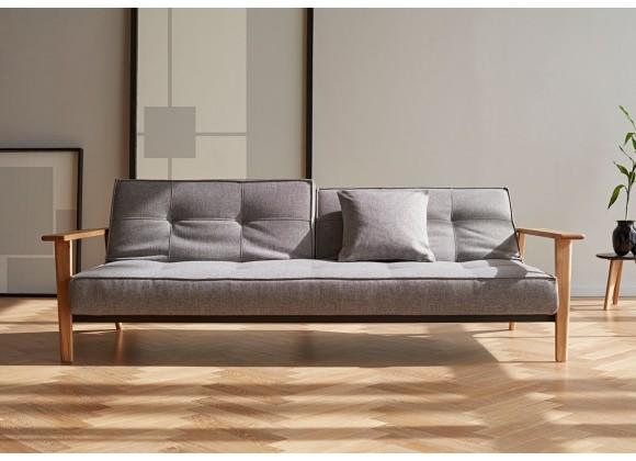 Splitback Dublexo Frej Sofa in Oak Lacquer - Lifestyle