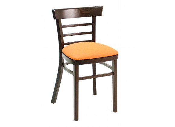 European Beechwood Wood Dining Chair - ECO-05S - Front