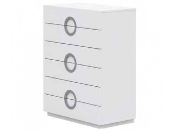 Whiteline Modern Living Eddy Chest of 6 Drawers