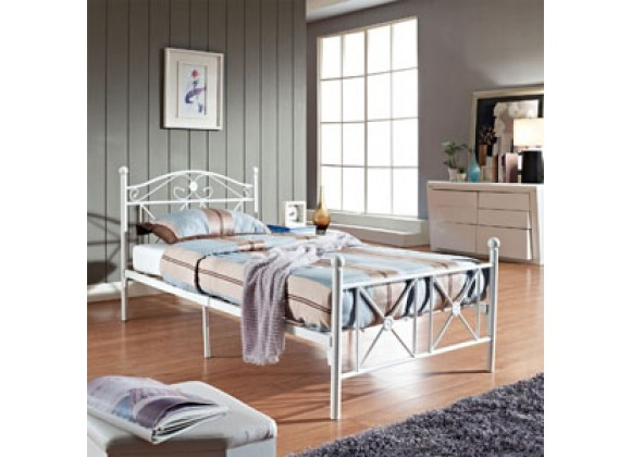 Modway Cottage Bed Frame in White