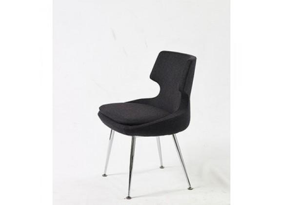 Mobili Modern Europa Wool Dining Chair