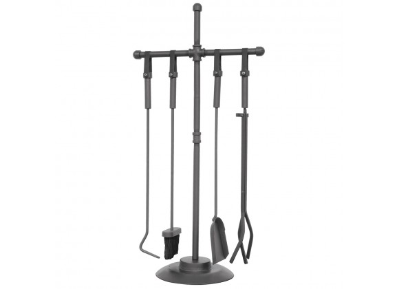 Mr. Bar-B-Q UniFlame® 5 Piece Industrial Style Fireset