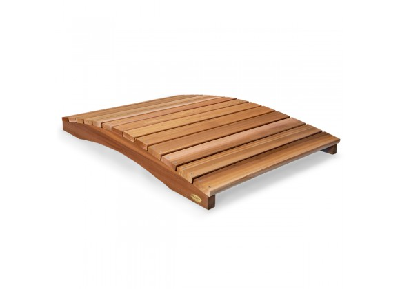 All Things Cedar 4' Garden Bridge