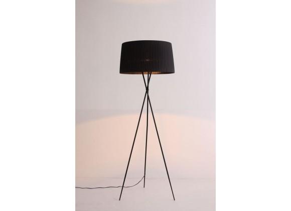 Paige Floor Lamp - Black - front