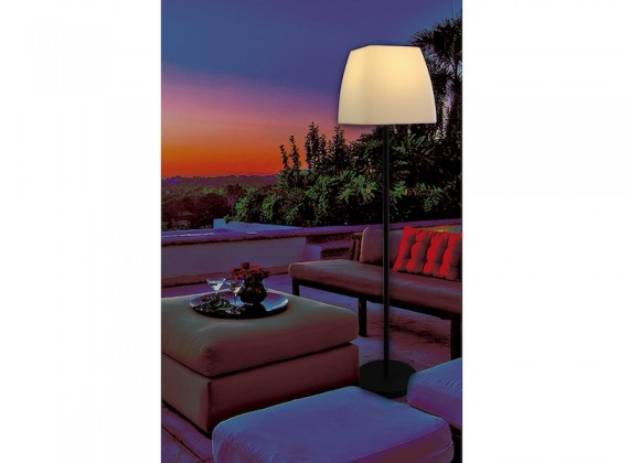 Whiteline Modern Living Rose Floor Lamp