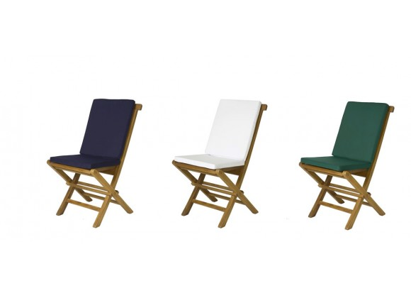 Folding Chair Cushion - Color Variations