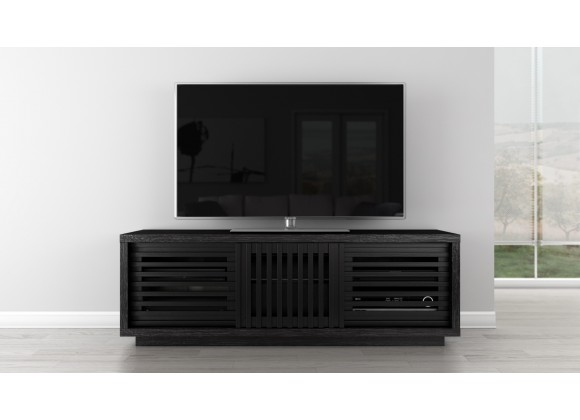 "64"" Contemporary Rustic TV Stand Media Console"