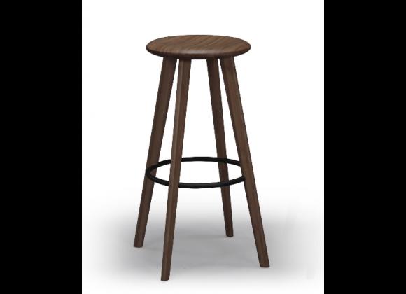 "Mimosa 30"" Bar Height Stool - Black Walnut"