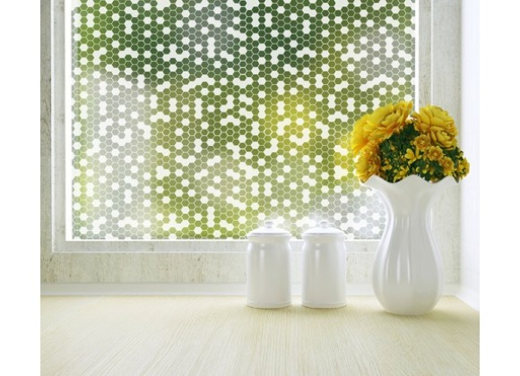 Odhams Press Honeycomb Privacy Adhesive Window Film