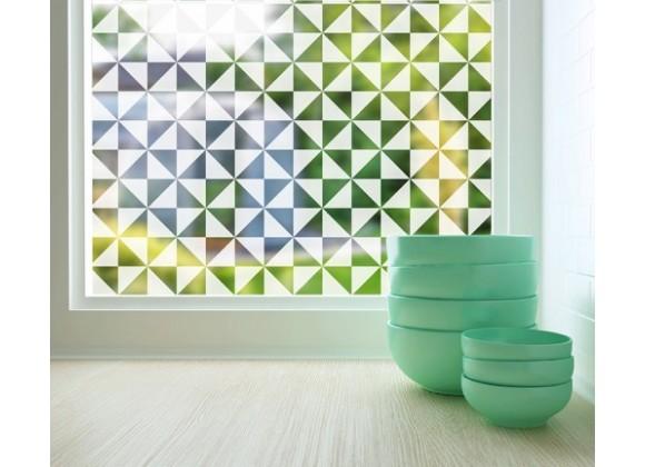 Odhams Press Pinwheel Sheer Adhesive Window Film