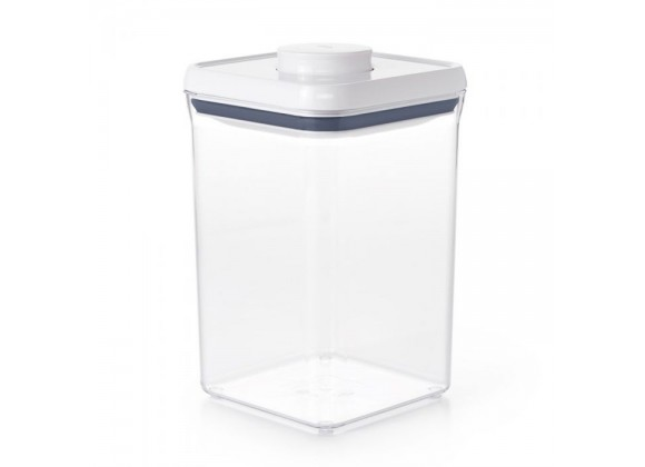 Oxo 4 Qt Pop Big Square Food Storage Container - Empty
