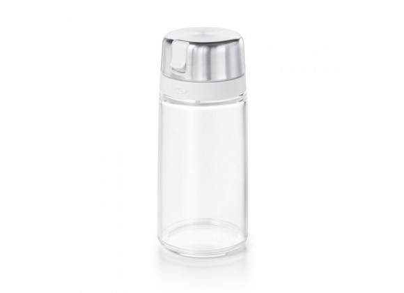 Oxo Good Grips Glass Sugar Dispenser - 12 Oz Capacity - Empty Front View