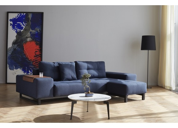Innovation Living Grand D.E.L. Sofa With Black Wood Legs - Lifestyle