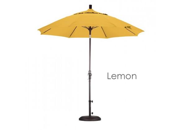 California Umbrella 9' Fiberglass Market Umbrella Collar Tilt Bronze - Olefin
