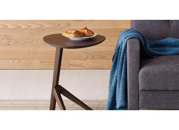 Rosemary Side Table - Black Walnut