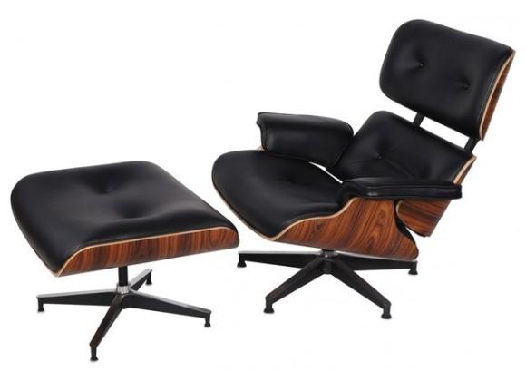 Mobili Modern Hampton Chair with Ottoman