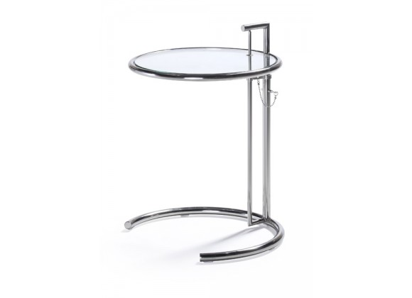 Havens End Table Tempered Glass
