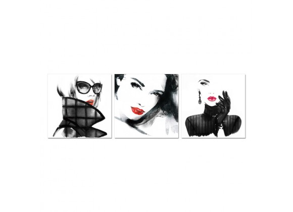 Bellini Modern Living Acrylic Picture of Her - LUXURIOUS