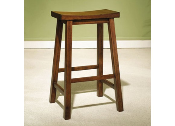 Powell Honey Brown Bar Stool 29 Seat Height