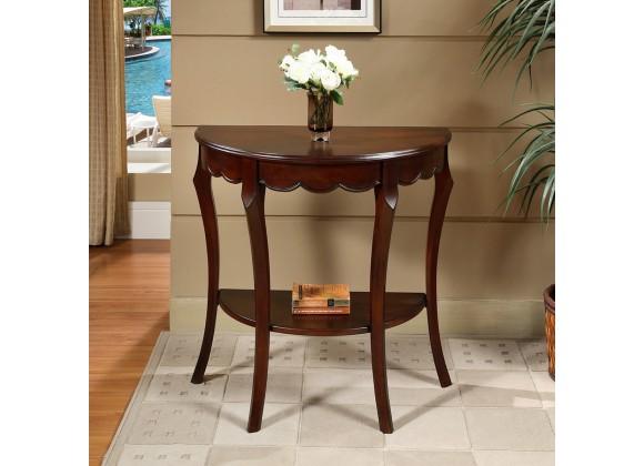 All Things Cedar Flower Display Table - Lifestyle