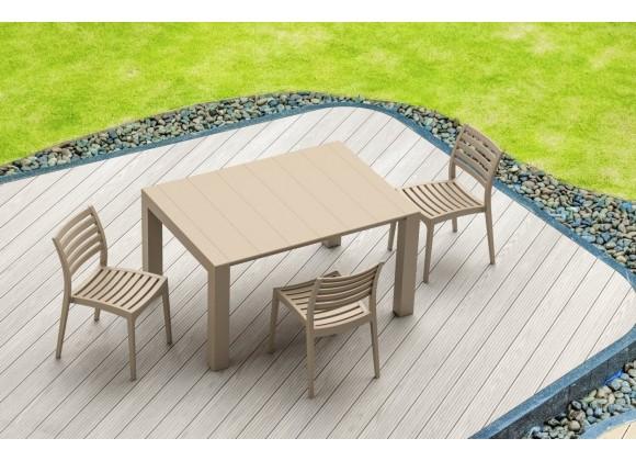 Compamia Vegas Extendable Dining Table - Dove Gray