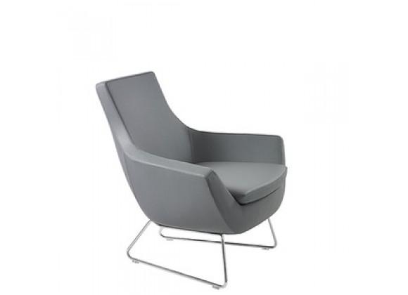 Mobili Modern Joy Leatherette Arm Chair