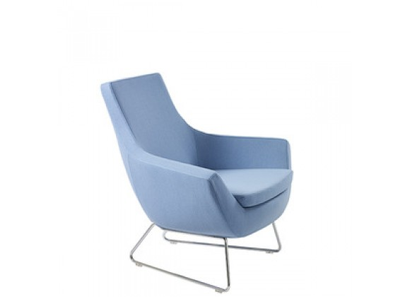 Mobili Modern Joy Organic Wool Arm Chair