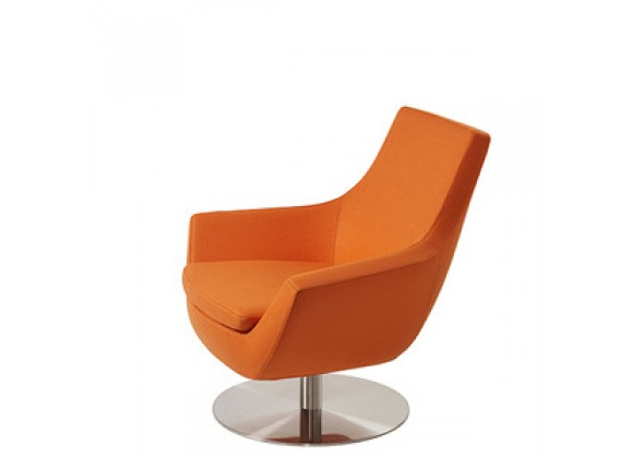 Mobili Modern Joy Organic Wool Swivel Chair
