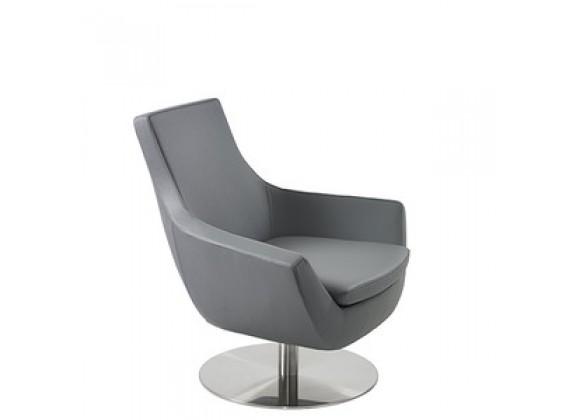 Mobili Modern Joy Leatherette Swivel Chair