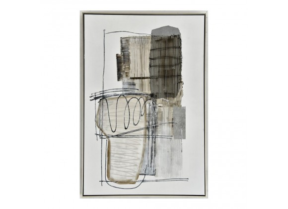 Moe's Home Collection Shade Abstract I Wall Art