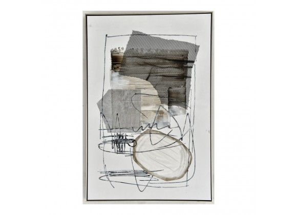 Moe's Home Collection Shade Abstract II Wall Art