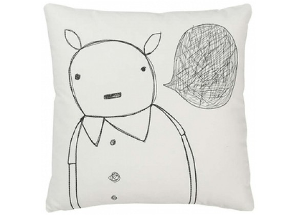 k studio Strange Portrait Series - Animal Man Pillow