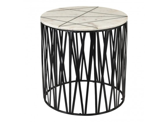 Moe's Home Collection Calcutta Side Table